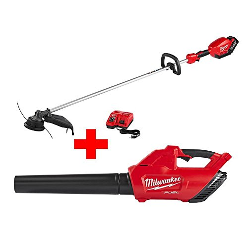 For Sale! M18 FUEL 18-Volt Lithium-Ion Brushless Cordless String Trimmer Kit with M18 FUEL Blower (B...