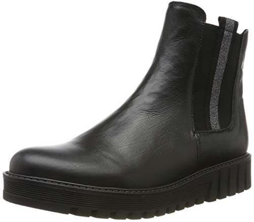 Gabor Shoes Damen Fashion Stiefelette, schwarz, 38 EU