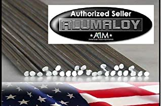 Alumaloy 20 Rods - USA Made, Easy, Simple Welding Rods, Aluminum Brazing/Welding Rods, Aluminum Repair (Renewed)