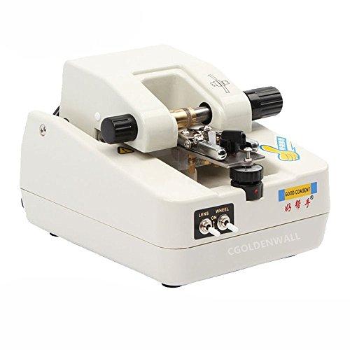 Cgoldenwall Cp-3 t groef-optische lens. Stekkerdoos groef lens machine roestvrij staal tekening show machine uitrusting ijzeren plaat 110 V/220 V CE-certificaat 110V