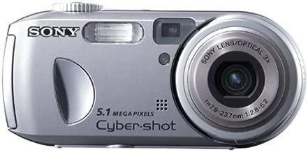 Sony Cybershot DSCP93A 5MP Digital Camera with 3x Optical Zoom