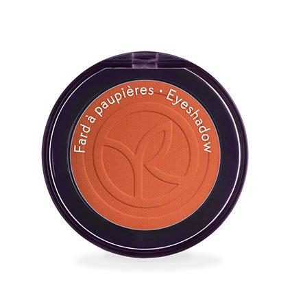 Yves Rocher COULEURS NATURE Lidschatten COULEUR VÉGÉTALE Orange cosmos mat, einzelner Eyeshadow in Orange, 1 x Dose 2 g