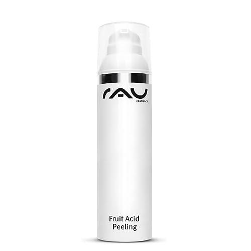 Fruchtsäure-Peeling mit Bha und Aha (1x 100 ml) - RAU Fruit Acid Peeling für das Gesicht, auch bei unreiner Haut und Mitessern