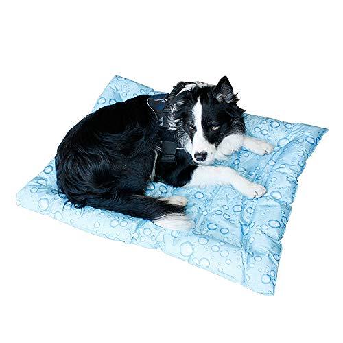 Alfombra Refrescante para Perro Alfombrilla de Refrigeración para Animales de Compañía Alfombrilla refrescante para Mascotas Aleatorio(XXL-76*91CM)