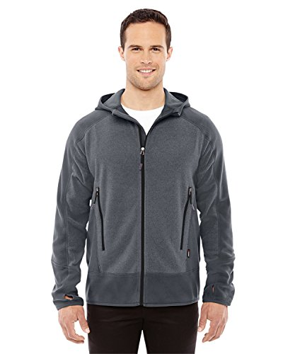Ash City - North End Sport Red Vortex Polartec Active Fleece Jacket (88810) -CARBON/ BLCK -L