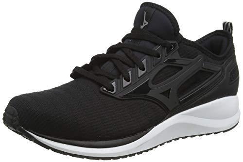 Mizuno Ezrun CG, Zapatillas de Running para Hombre, Negro (Black/Black 09), 44 EU