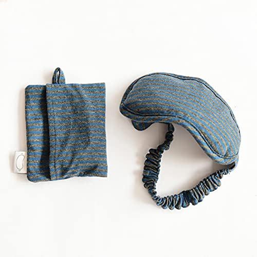 shian Goggles Sleep Blackout Gafas de algodón de Viaje espesas y Transpirables Cómodas y Sencillas para la Siesta