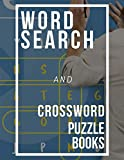 Word Search And Crossword Puzzle Books: Word Search Puzzle Books, Improve Spelling, Vocabulary and Memory Children's activity books & Seniors.
