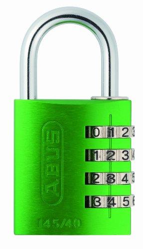 Abus - 145/40 40mm Green kombination aus Aluminium Vorhängeschloss 49531 - AB...