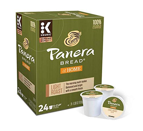 Keurig Coffee Pods K-Cups 16 / 18 / 22 / 24 Count Capsules ALL BRANDS / FLAVORS (24 Pods Panera Bread - Light Roast)