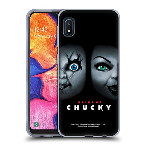 Head Case Designs Officially Licensed by Bride of Chucky Poster Key Art Soft Gel Case Compatible with Samsung Galaxy A10e (2019)