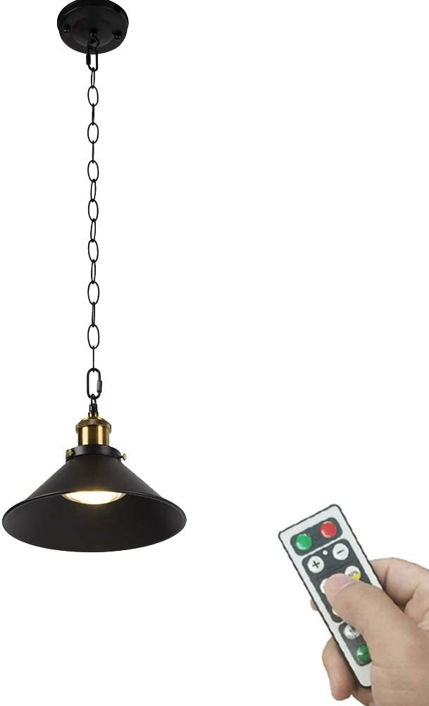 ANYE 1-Light 100 Large discharge Tulsa Mall sale Lumens Led Remote Not Hardwired Control Battery