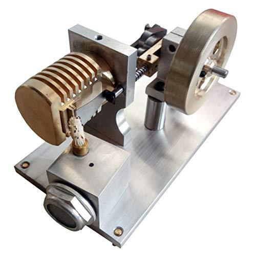 Poxl Heiße Luft Absaugung Stirlingmotor Modell, Stirlingmotor mit Generator Stirlingmotor Bausatz Pädagogisches Spielzeug für Stirling Modell Liebhaber ab 12 Jahren
