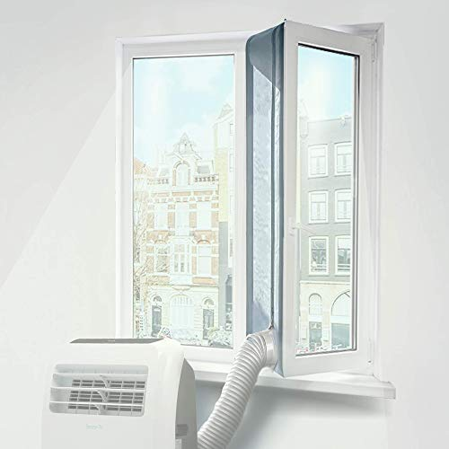 Airco Raamafdichting - Mobiele Airco Afdichten - Raam Afdichter - Airco Slang Raamafdichtingskit – Ook geschikt voor dakraam en deur - Vensterafdichting – Ook tegen Insecten – 400 cm