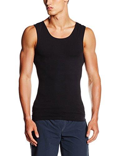 Trigema Herren 612404 Unterhemd, Schwarz (schwarz 008), Large