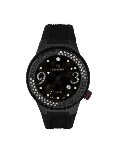 Kienzle Damen-Armbanduhr POSEIDON Lady Analog Quarz Silikon K2112044013-00424