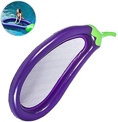 Zomer Draagbaar Leeg 220 * 110cm Zomer Zwembad Drijvend Opblaasbaar Aubergine Matras Zwemring Cirkel Eiland Koel Water Feest Speelgoed Kinderen Volwassenen