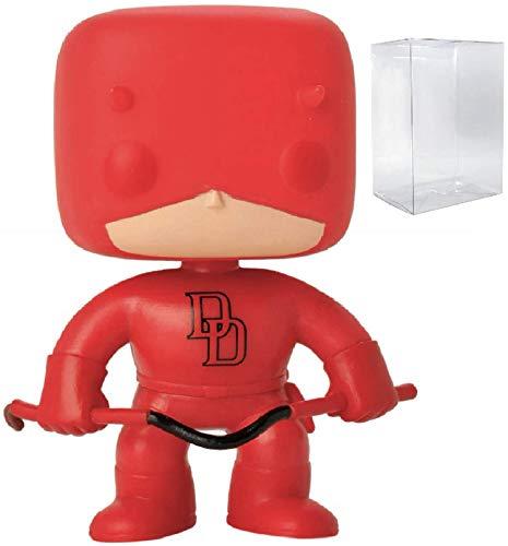 Marvel: Daredevil Funko Pop! Hot Topic Exclusive Vinyl Figure (Includes Compatible Pop Box Protector Case)