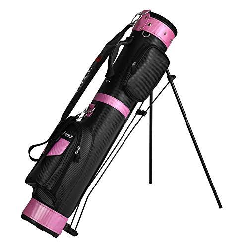 Yaunli Golf Aviation Bag Unisex PU Golf Bag wasserdichte Golf Gun Bag Regendicht Golf Reisetasche Für Männer Und Frauen Kann Platziert Werden 9 Clubs Golf Deluxe Travel Cover