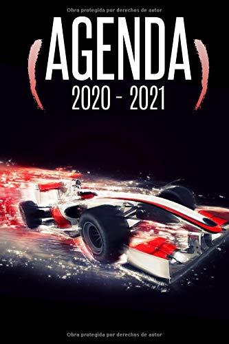 agenda coche deportivo 2020 2021: agenda escolar coches deportivos 2020 2021, agenda 2020 2021 semana vista, Septiembre 2020 a Sep 2021, calendario, ... semanal a5, Colegio, secundaria, estudiante