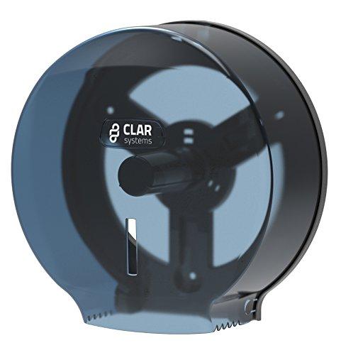 Clar sistemi P3000PT i-nova dispenser di carta igienica in rotolo, 300m, fumé