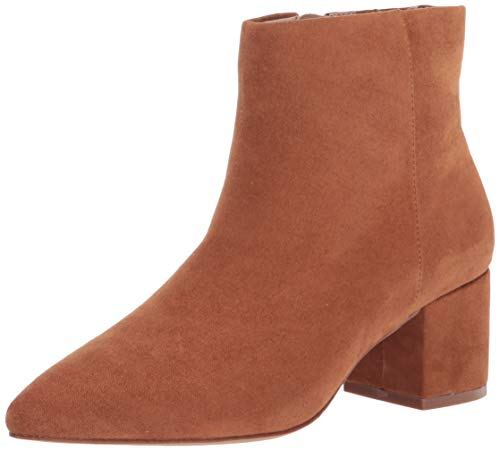 The Drop - Jessi, Stivaletti con Cerniera Laterale E Tacco Largo, Ankle Boot Donna