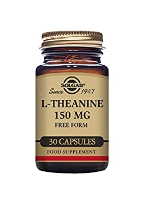 Solgar L-Theanine 150 mg Vegetable Capsules - Pack of 30