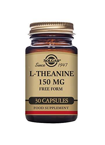 Solgar L-Theanine 150 mg Vegetable Capsules - Pack of 30