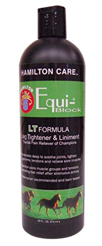 Hamilton Care Equi-Block Horse Leg Tightener & Liniment Light Formula, 16-Ounce by MiracleCorp