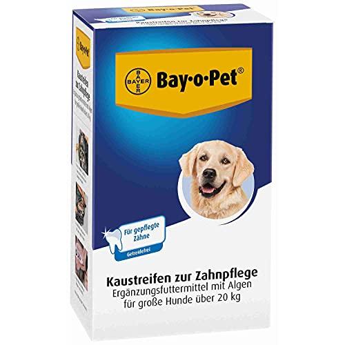 Bayer Bay-0-Pet Zahnpflege Kaustreifen, große Hunde, 140 g