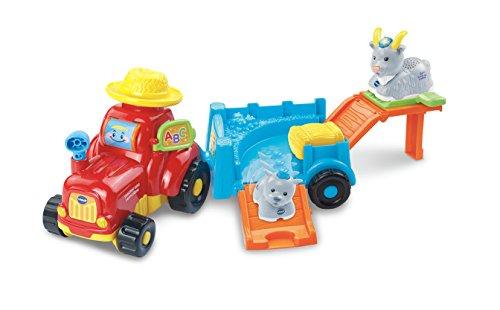 VTech-Tractor y Cabra de la colección...