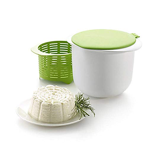 Lisa Bell The New Mikrowellen-Käsebereiter Küche Frischkäse Kuchen Schüssel Set