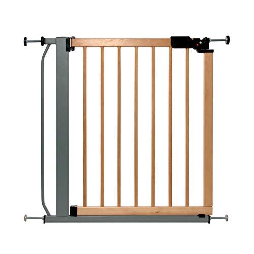 LSRRYD houten huisdier poorten hek intrekbare hond kat kinderen Barrier dubbel vergrendeld 90° twee weg open verblijf deur eenvoudig te installeren voor badkamer keuken trappen ingang