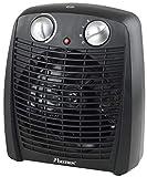 Bestron Radiateur soufflant, Thermostat, Contrôle de la température, 1000 W/ 2000 W, Noir