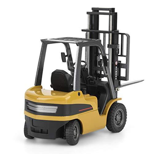 AMONIDA Vehículo de ingeniería de Juguete, vehículo de camión de Juguete, Carretilla elevadora de aleación, camión de Juguete Resistente al Desgaste para la Familia para los niños