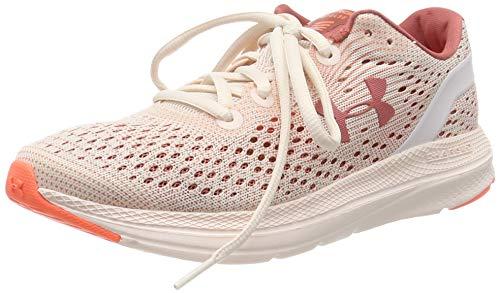 Under Armour womens Charged Impulse Mojave Dawn Apex Running Shoe, Apex Pink (800 Peach Plasma, 9.5 US