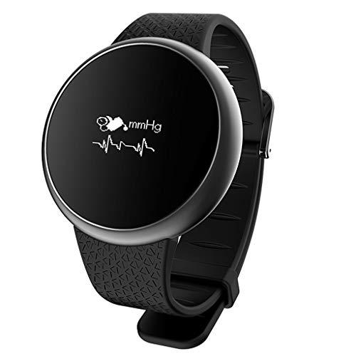 Purchase DSWDA Smart Watch Fashion Smart Blood Pressure Bracelet Round Waterproof Multifunctional Sp...