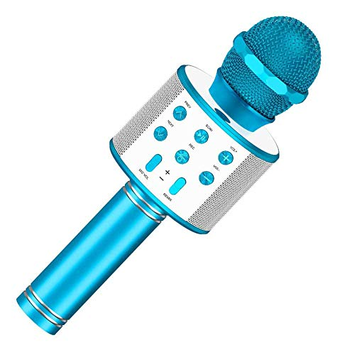 Girl Toys Age 4-12, Wireless Portable Handheld Bluetooth Karaoke Microphone for Boys Girls Kids Best...