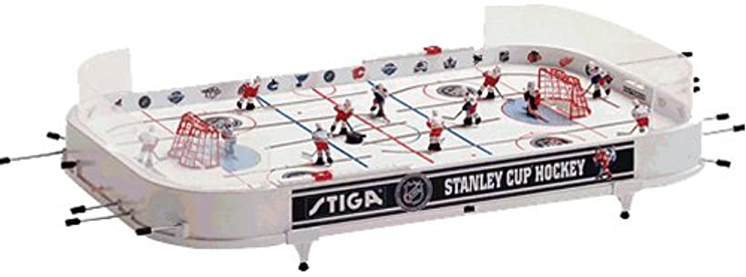Stiga 37 in. NHL Stanley Cup Rod Hockey Table Top Game