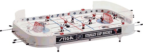 Fantastic Deal! NHL Stanley Cup Hockey Table Game (Detroit Red Wings / Toronto Maple Leafs)