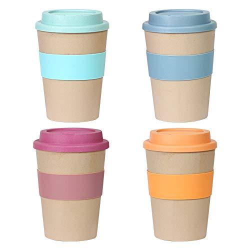 Innovation Line | Set Vaso Ecológico Figueres. Vaso para café reutilizable en 4 colores