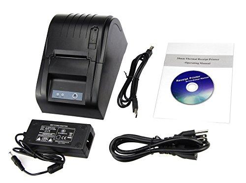 Xfox 5890T Thermal Printer - 90mm/sec High Speed POS Thermal Receipt...