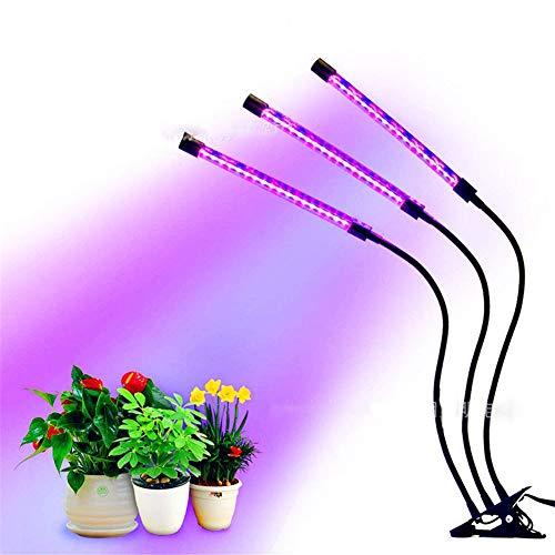 Imagen del productoLEIAZ Lampara Cultivo Led Grow con IR Luz para Plantas Cultivo Indoor Hidropónica Flores y Planta de Semillero Armario Cultivo