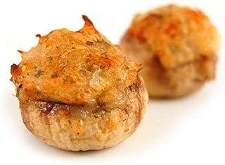 Frozen Crab Stuffed Mushrooms - 200 Units (1 Oz Each) (12.5 pound)