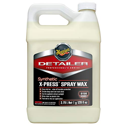 MEGUIAR'S D15601 Synthetic X-Press Spray Wax, 128. Fluid_Ounces