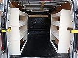 Vanity - Estantería ligera de madera contrachapada para furgoneta Ford Transit Custom de batalla corta, modelo antiguo y nuevo, sistema de estante para furgonetas, estanterías y almacenamiento