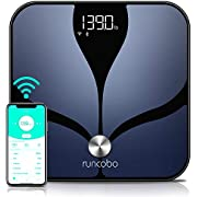 Scales for Body Weight - Auto-Switch Wi-Fi Bluetooth Body Weight Scale, 14 Body Composition with iOS Android APP, Multiple Users, Unlimited Cloud Storage, Smart Scales Digital Weight and Body Fat