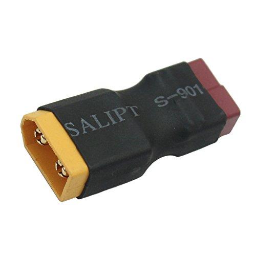 Pinzhi XT60 mâle vers Deans T Adaptateur de connecteur femelle connecteur (Random Color)