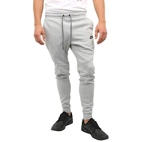 Nike Herren Sport Trousers M NSW TCH FLC JGGR, dk Grey Heather/Black/(Black), 3XL, 805162