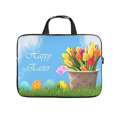 Funda para portátil con diseño de huevos de Pascua